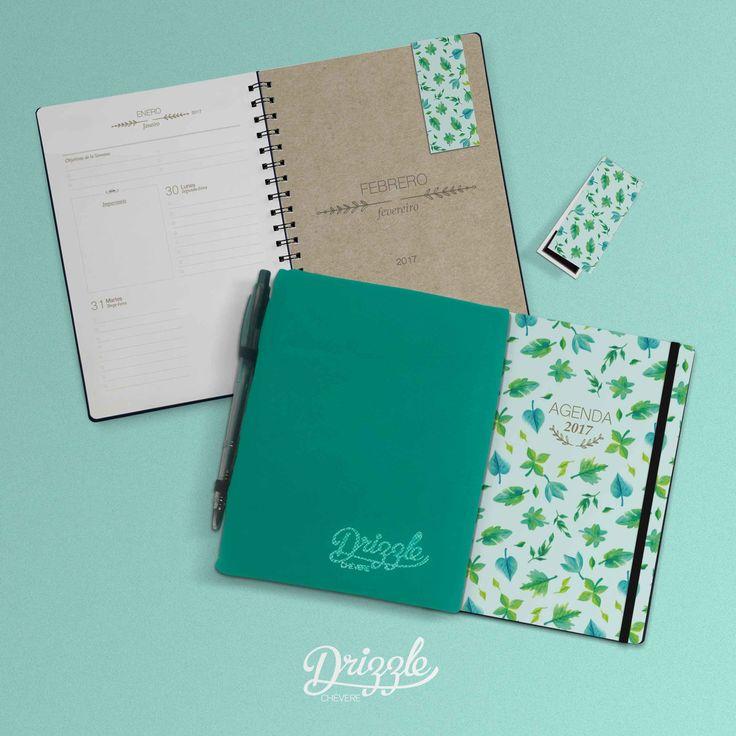 @drizzlechvere  Agendas Cuadernos y Señaladores Imantados