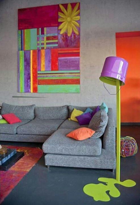 #livingroom #colorful #furniture