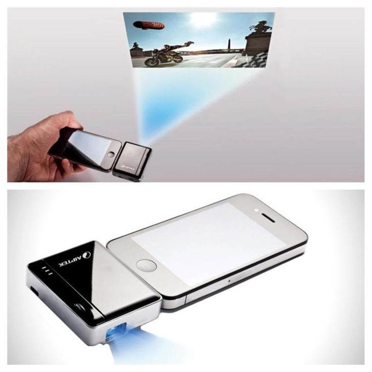 how to make projector for iphone