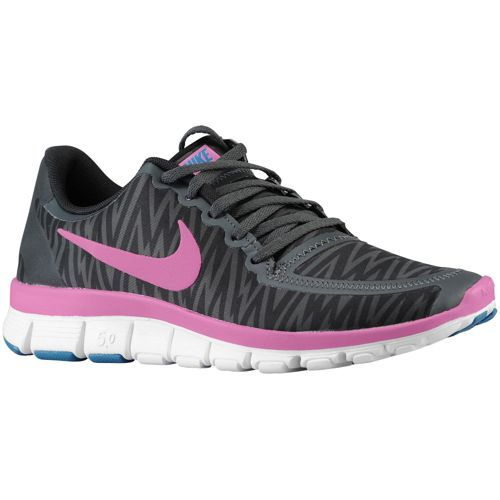 Nike Free 5.0 V4 - Women's - Running - Shoes - Bright Magenta/Hyper Fuchsia