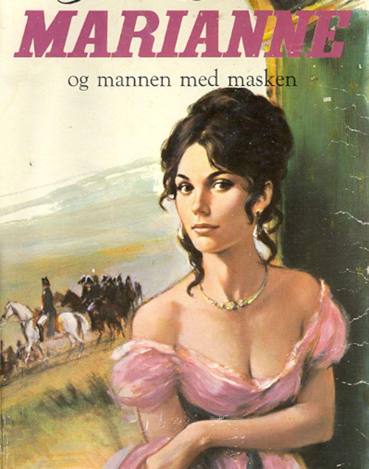 """""""Marianne og mannen med masken - Marianne 3"""" av Juliette Benzoni"""