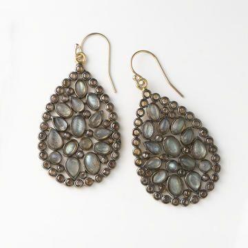 NuNu Labradorite Earrings from Fortunoff Fine Jewelry