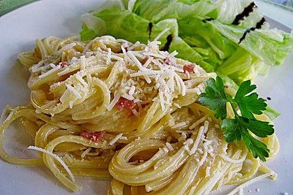Spaghetti alla Carbonara nach Südtiroler Art, ein sehr schönes Rezept aus der Kategorie Pasta & Nudel. Bewertungen: 416. Durchschnitt: Ø 4,5.