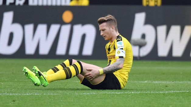Marco Reus to miss Borussia Dortmund's Champions League second leg against Benfica - bundesliga.com