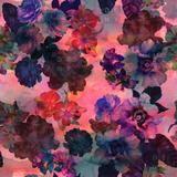 Schatzi Brown Le Fleur Pink Duvet Cover | Deny Designs Home Accessories
