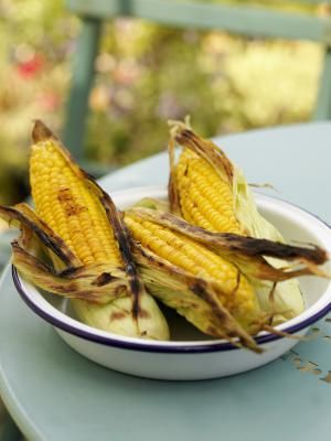 Fresh Corn on the Cob from the Grill: Fresh Corn on the Cob