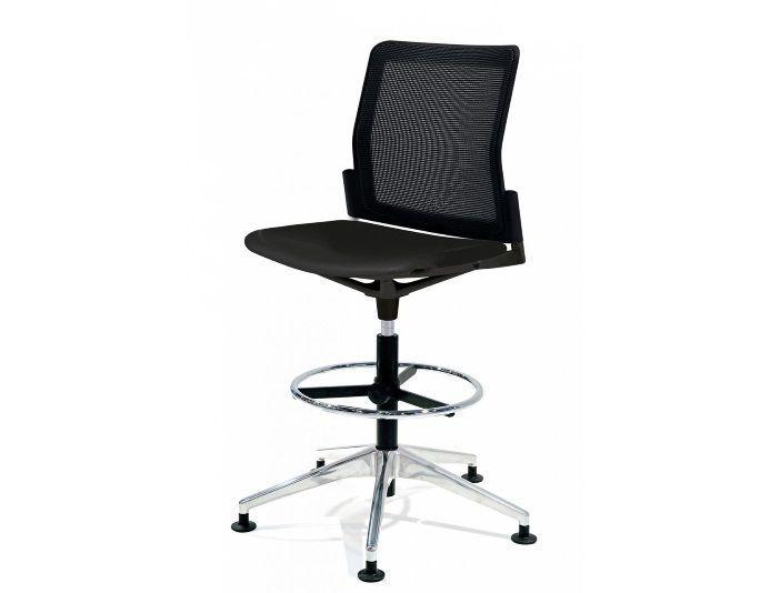 Chaise Haute De Bureau Dossier Resille Urban Plus Chaise Haute Chaise Bureau Debout Assis
