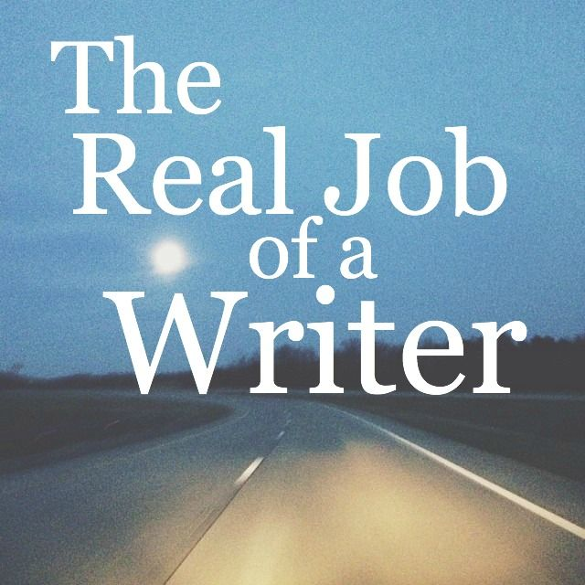 the real job of a writer. YES.: Mistakes Happen, ️Writing Reading ️, Freeman Today, Sky Posts, Observational Writing, Grammar Mistakes, Emily Freeman, Writers Real, Real Job