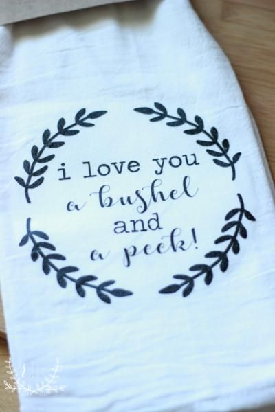 These farmhouse flour sack towels are perfect for any kitchen! They also make great gifts with many fun prints and designs to choose from! All of the prints are