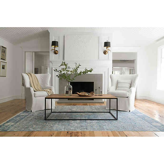 Magnolia Home By Joanna Gaines Ophelia Rug In Grey Sky Bed Bath