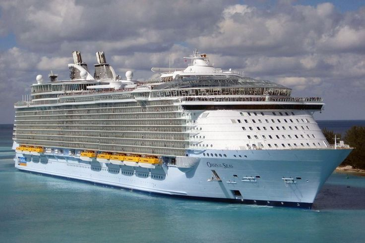 Information, pictures, and detailed tour of the Oasis of the Seas, one of the world's largest cruise ships from Royal Caribbean International