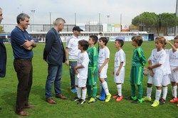 El Real Madrid FC vence en la primera jornada del III Torneo de Fútbol Base Móstoles Cup
