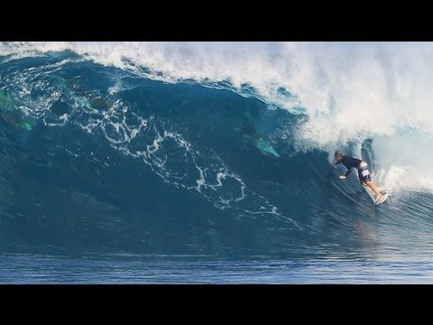 John John Florence surfing Backdoor Hawaii