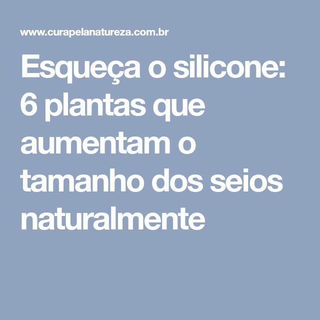 ef65581f5 Esqueça o silicone  6 plantas que aumentam o tamanho dos seios naturalmente