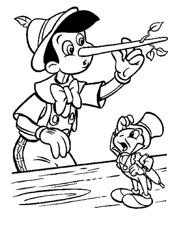 The 42 best Pinocchio Coloring Pages images on Pinterest ...