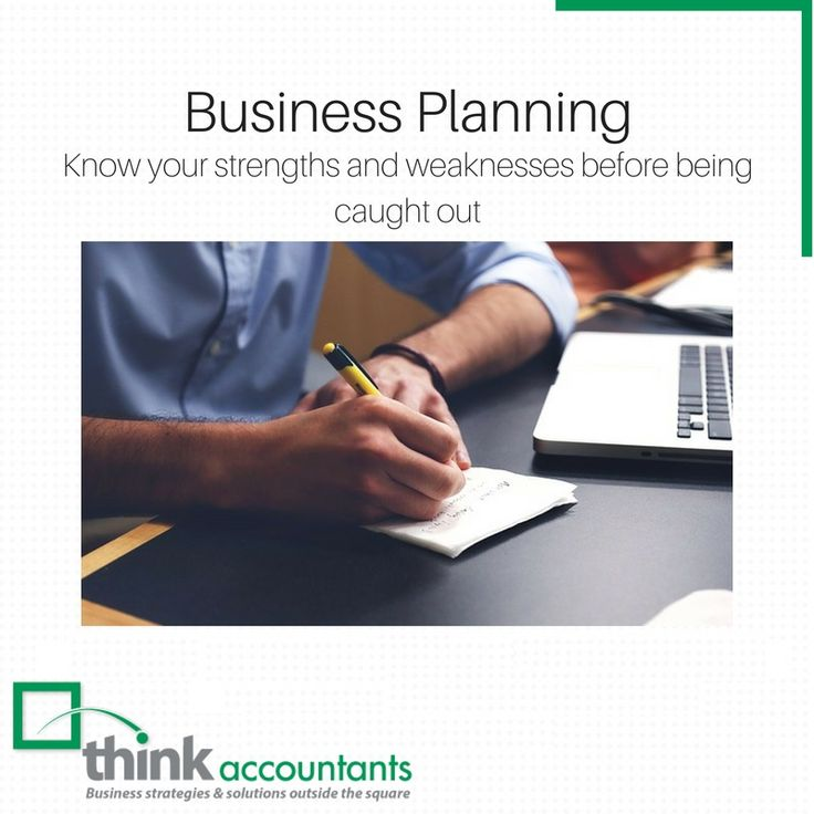 @thinkaccountants today to discuss a solid business plan for your business – a good business plan is crucial to the ongoing safety and growth of your business. https://goo.gl/PNrvTc