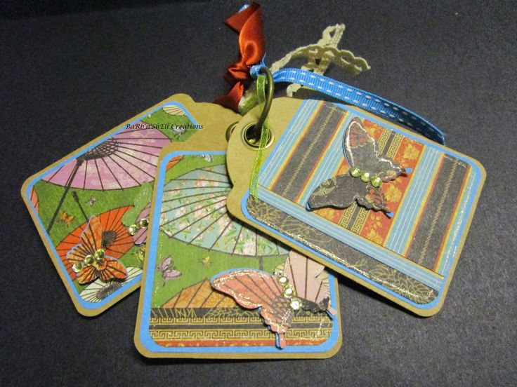 BaRb'n'ShEllcreations - Graphic 45 Staples Tags, Birdsong Collection - made by Shell