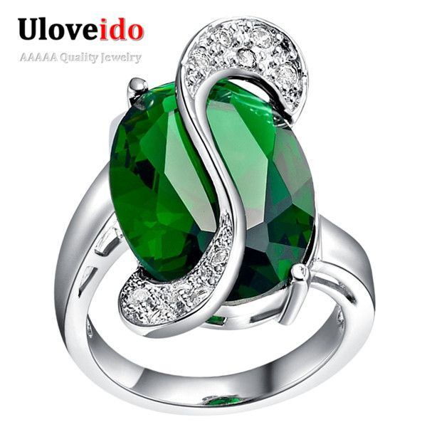 Find More Rings Information about Engagement Fashion Rings for Women 2016 Wedding Silver Plated Rainbow Simulated Diamond Ring Jewelry Wholesale Ulove J195,High Quality ring owl,China ring small Suppliers, Cheap ring silicon from ULOVE Fashion Jewelry on Aliexpress.com