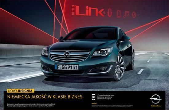 Fun interactive ad for Opel in Poland!