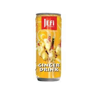 #Gember #drank #Jefi staat bekend om zijn uiterst populaire tropische sappen die voorzien zijn van een fris exotisch aroma en een buitengewone sappigheid. Jefi sappen zijn zeer rijk aan vitaminen, hebben een pure sapsmaak en bevatten geen conserveringsmiddelen https://www.asianfoodlovers.nl/producten/drankjes/gember-drank-250-ml