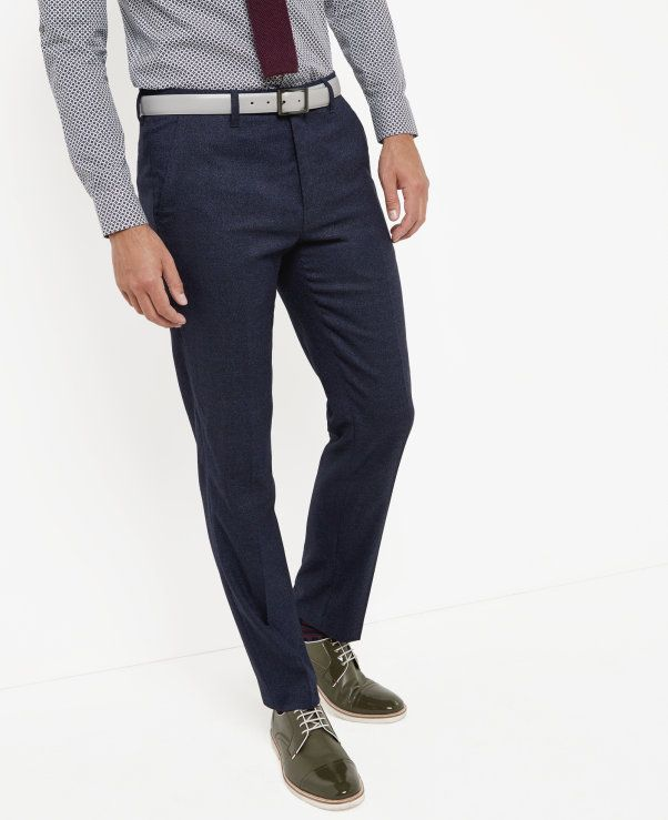 from Ted Baker · Mouliné trousers