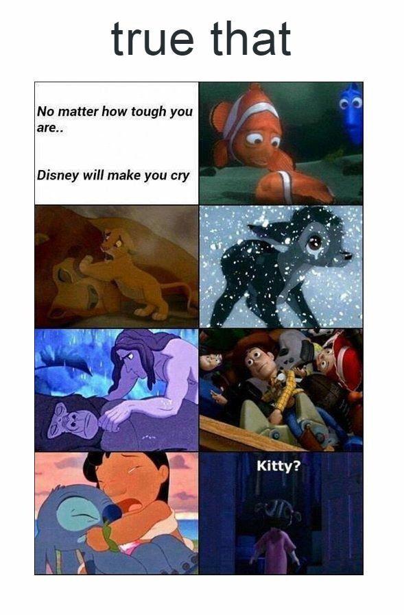 disney movies make me cry every damn time