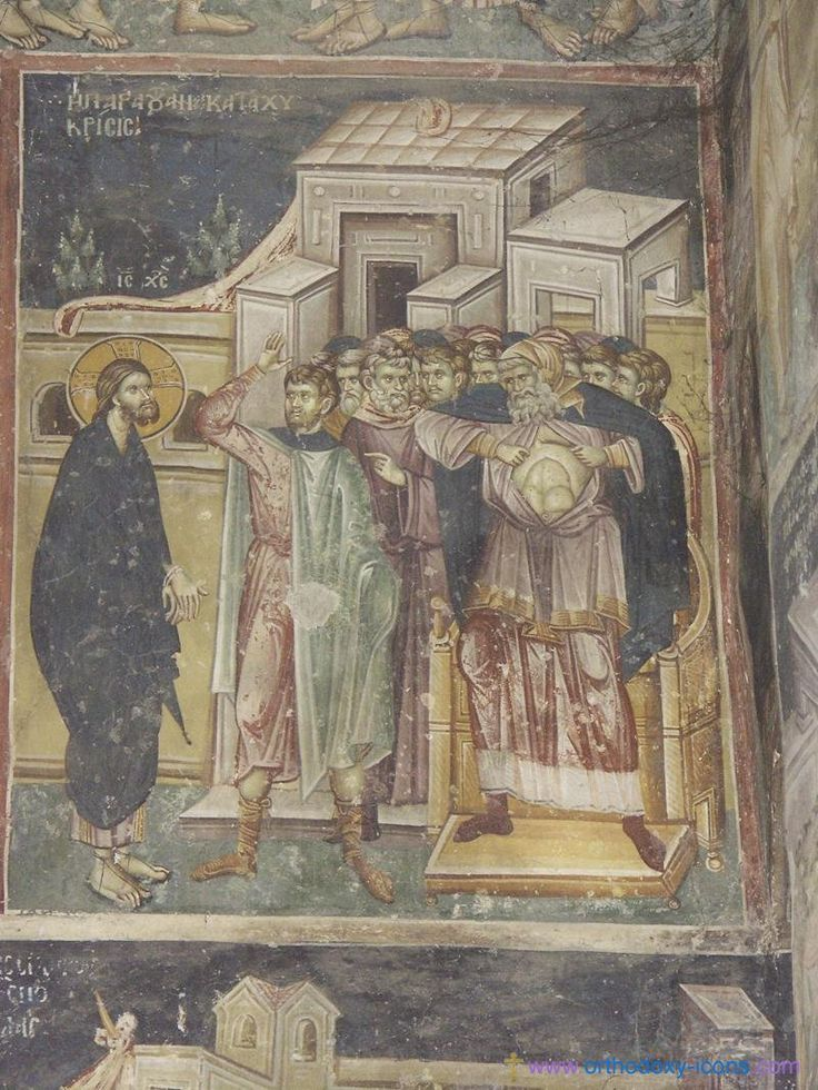 Frescoes Old Nagorichno 12-14 centuries
