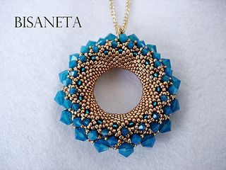 GOLDEN SUN V | da BISANETA - #beads #crystals