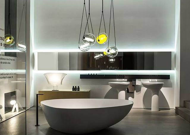 Impressive Group Of Capsula Lights In Agape Showroom. Brokis Lighting    Design Lucie Koldova.