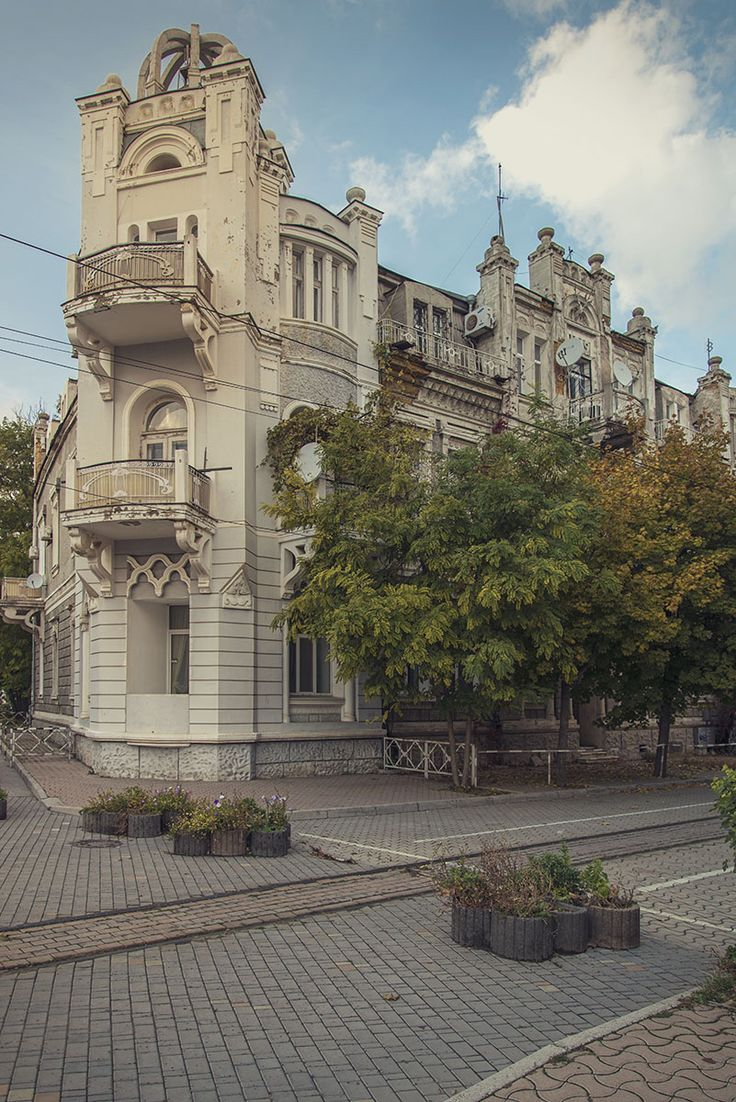 Дом 1912 года на Театральной площади, Евпатория