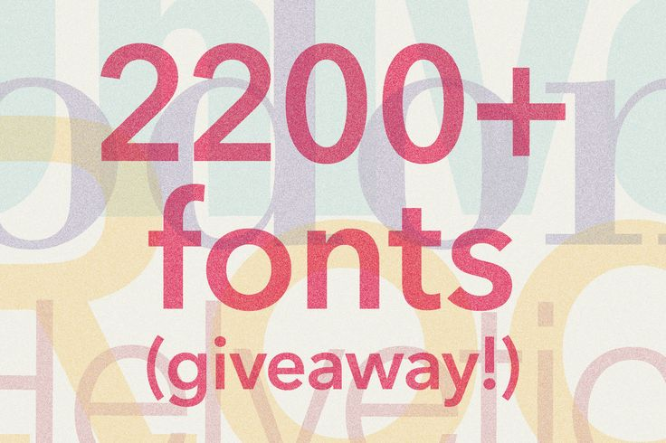Monotype Library Subscription Giveaway on Type365 website.