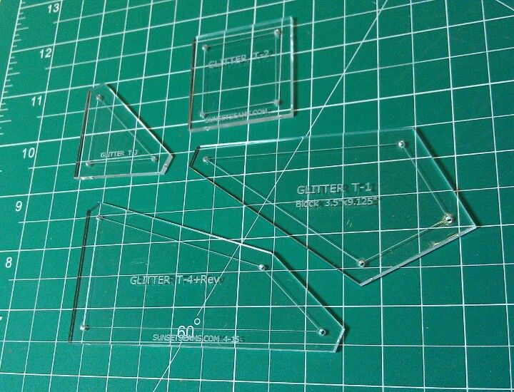 How To Use Acrylic Quilting Templates : 25 Best images about Jen Kingwell on Pinterest Something new, Steam punk and Circles