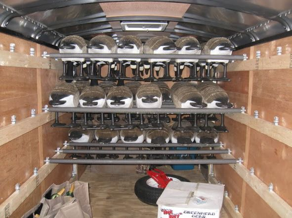 Man Cave Rv Storage : Best images about enclosed trailer storage on pinterest