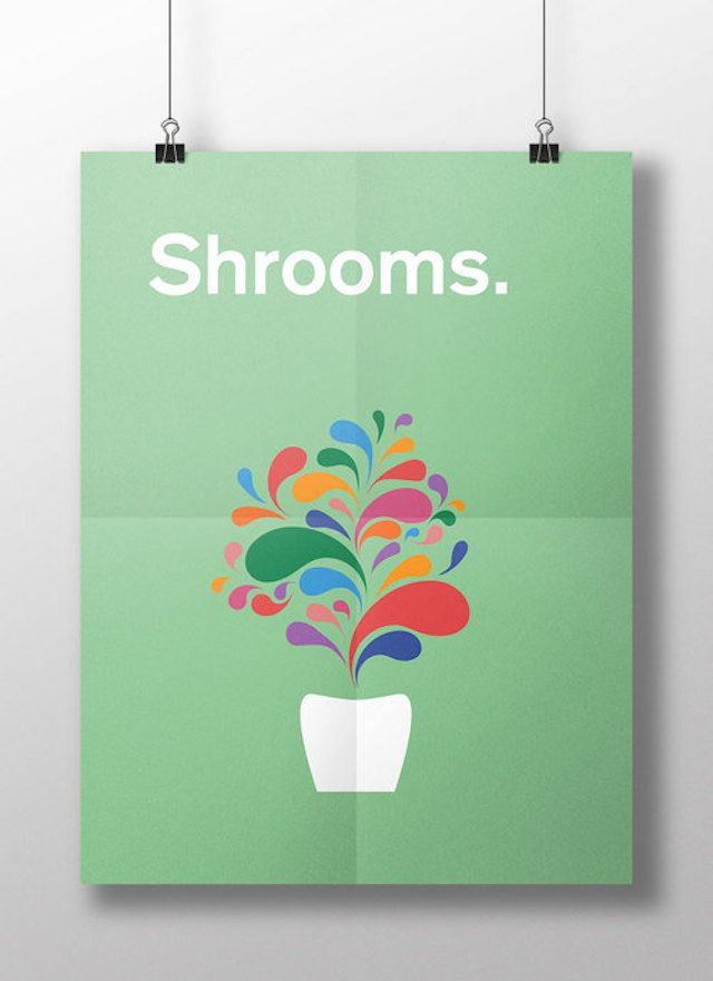 Meaghan Li || This is your brain on drugs: Shrooms || http://www.meaghanli.com/