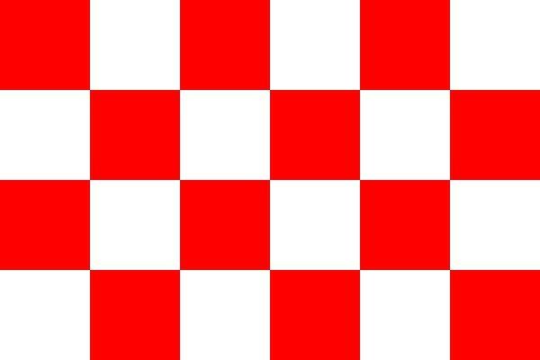 Vlag van provincie Noord Brabant