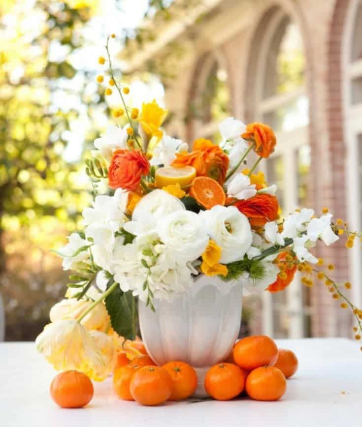 Wp Design Inspiration Ideas All About Home Decor Diy Inspiration Fall Flower Arrangements Flower Arrangements Fruit Flowers