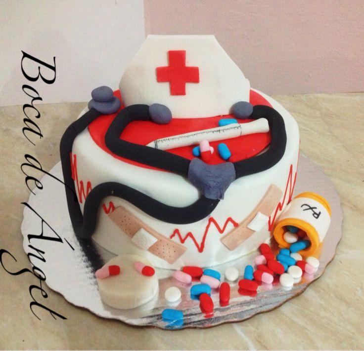 Pastel enfermera