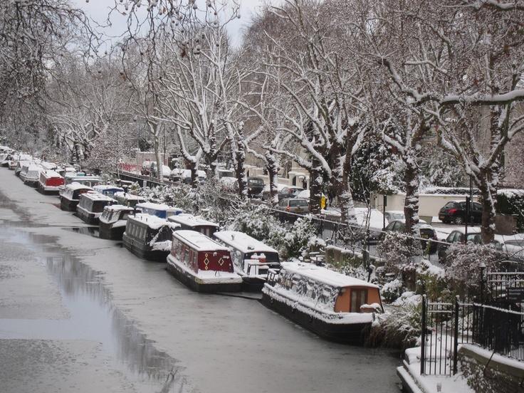 regents canal little venice london romance is not dead pinterest the winter frozen. Black Bedroom Furniture Sets. Home Design Ideas