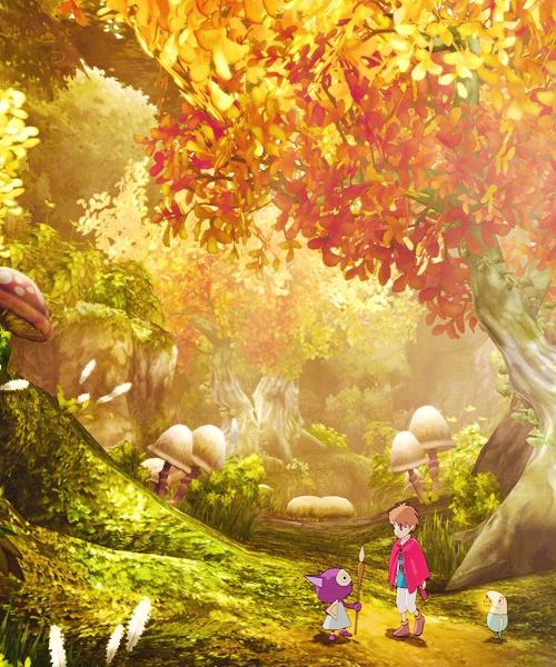 Ni No Kuni-Beautiful game with beautiful art and graphics from Studio Ghibli and Level 5 ^^