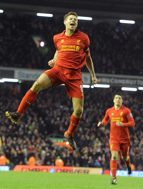 Captain fantastic Steven Gerrard: Don't you love him, Happy birthday to the best captain of Liverpool FC.