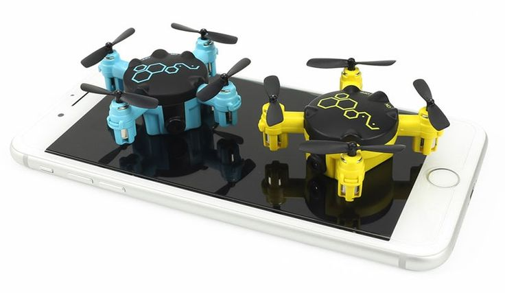 FQ777 FQ04 pocket drone with camera. New ultra compact mini drone for newbies. The FQ777 FQ04 headless quad-copter offers about 4-5 minutes of flight time.