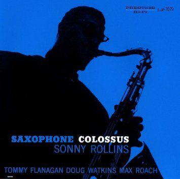 サキソフォン・コロッサス(Saxophone Colossus)は、ジャズ・サックス奏者ソニー・ロリンズが、1956年にプレスティッジ・レコードから発表したアルバム。発売直後から英米のメディアで絶賛され、ロリンズの名を一躍広めた。現在もロリンズの代表作に挙げられる。 ロリンズの個性である、温かみのある演奏が存分に発揮された内容で、ジャズ初心者に薦められることの多いアルバム。 自作曲「セント・トーマス」は、カリプソに影響を受けた明るい曲で、タイトルの由来はセント・トーマス島。ロリンズの母方がヴァージン諸島出身ということもあって、ロリンズも幼い頃からカリプソに親しんできたという。その後長きに渡って、コンサートの重要なレパートリーとなり、2005年に行われた最後の日本公演でも演奏された。また、ケニー・ドリュー、ジム・ホール、寺井尚子等、多くのアーティストにカバーされている。ロリンズ自身も、1964年のスタジオ録音アルバム『ナウズ・ザ・タイム』でセルフカバーした。