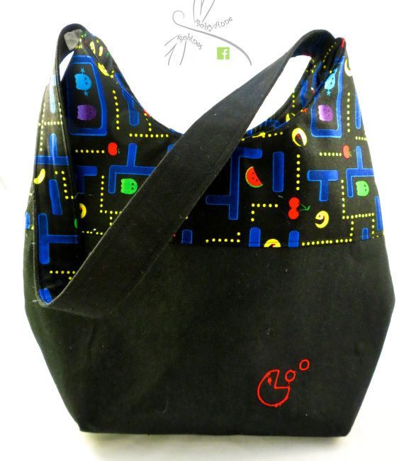 PacMan Video Game Purse. #etsy  #gifts