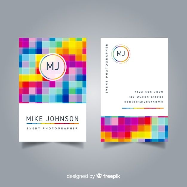 Download Business Card Template For Free