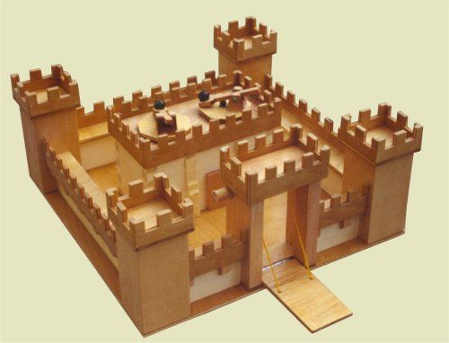 Medieval Castle School Project How To Build A Castle