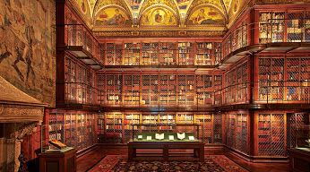 Библиотека и музей Моргана #достопримечательности #отдых #путешествие #прогулка #отпуск #библиотека