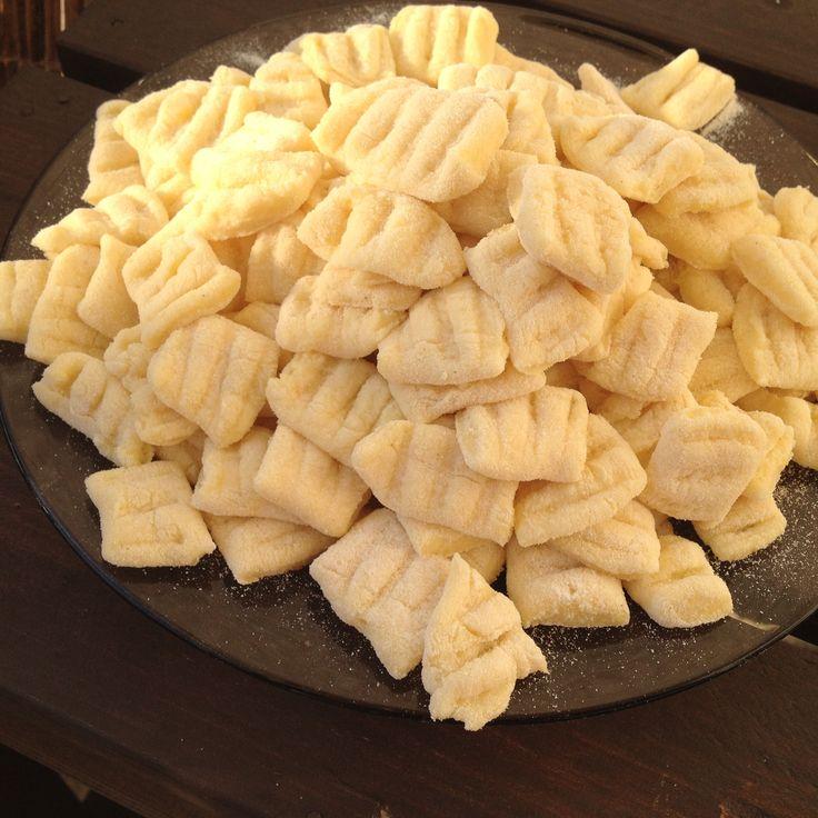 Fotorecept: Domáce zemiakové gnocchi so smotanovou omáčkou