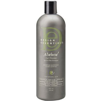 Design Essentials Natural Curl Cleanser Sulfate Free Shampoo