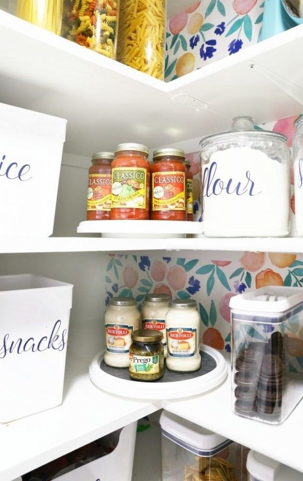 17 Organizing Tricks You Need To Try If You Re Obsessed With Pinterest Pantries Diy Pantry Organization Pantry Makeover Pantry Organization