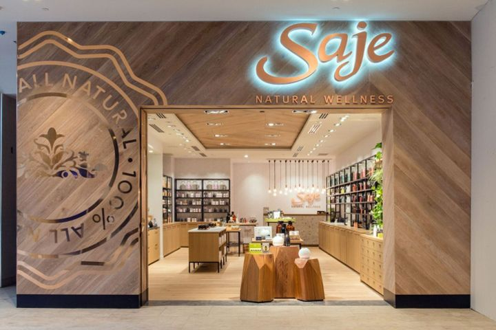 Saje Natural Wellness by Jennifer Dunn Design Halifax  Canada